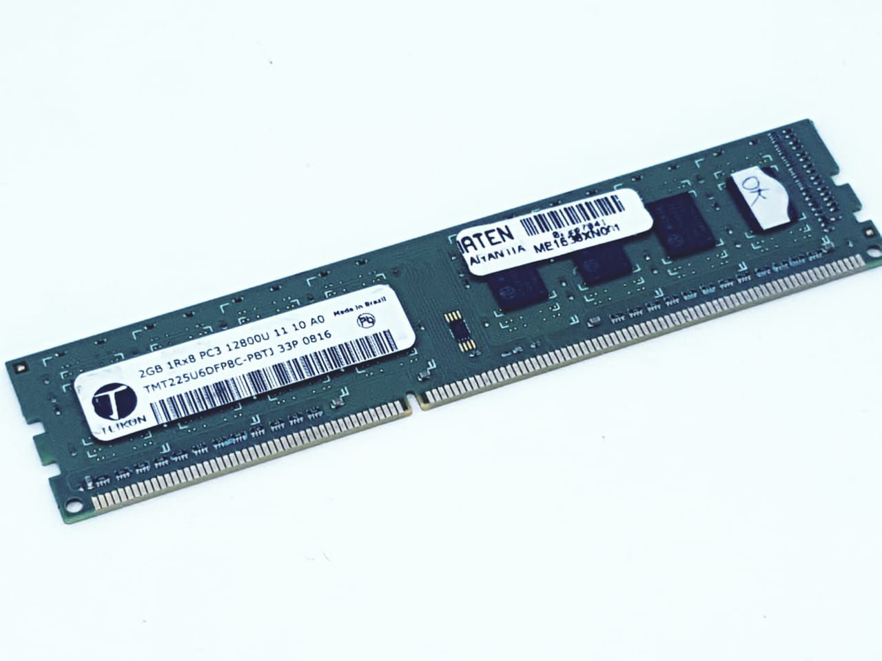 Memória DDR3 2G PC3 12800Mhz Semi nova