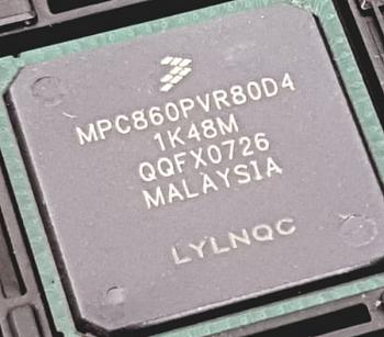 Microprocessador Micro MPC860pvr80d4 NXP 32 bit 80MhZ BGA 357 Pinos
