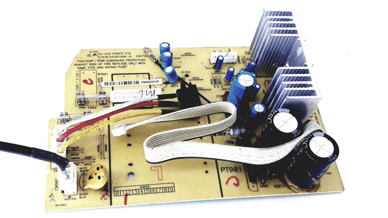 Placa da fonte para Micro System Semp Toshiba modelo MS7530 Original