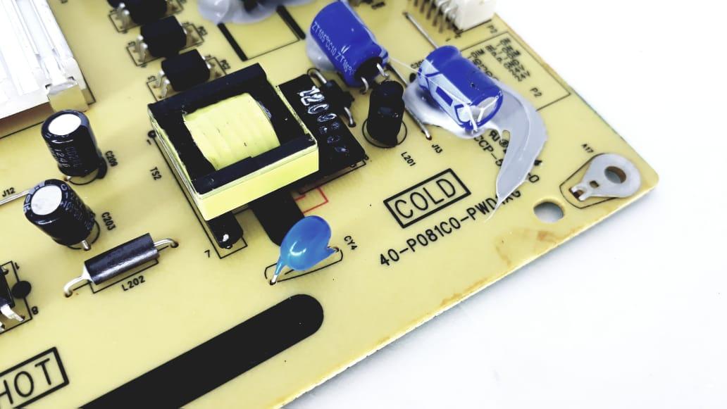 Placa da fonte  para TV modelo LE3264(A)W 40-P081C0-PWD1XG 32 polegadas
