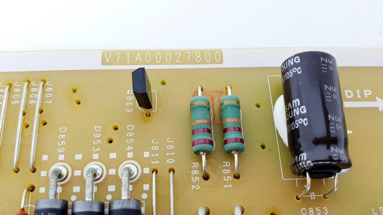 Placa da fonte  para TV Semp Toshiba modelo 32L2300 V71A00027800 32 polegadas LED