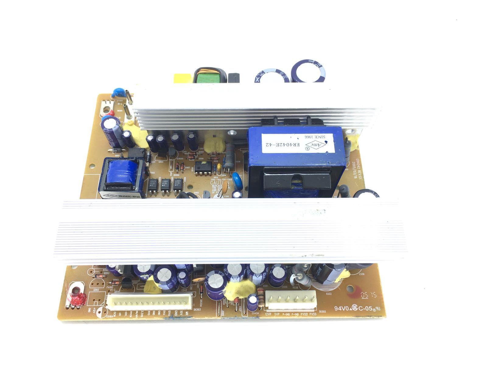 Placa Da Fonte Semp Toshiba Xb1535 Rádio Som Nova
