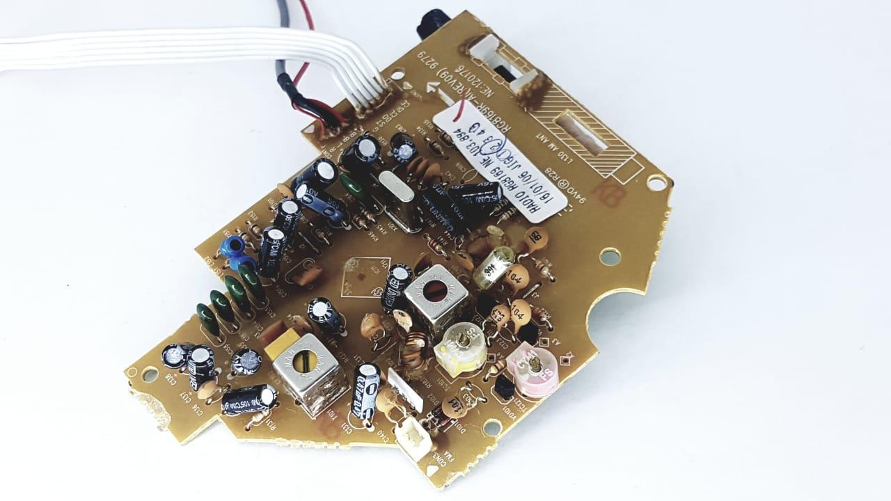 Placa Do Rádio Semp Toshiba Rg 9169 Original Nova