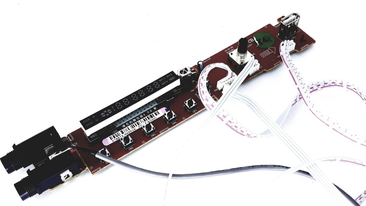 Placa  Frontal + cabos  para Home Theater da Semp Toshiba modelo XB 4351