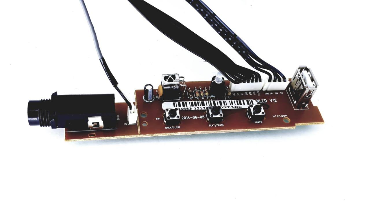 Placa frontal do microfone  Semp Toshiba modelo SD5093CJ Original