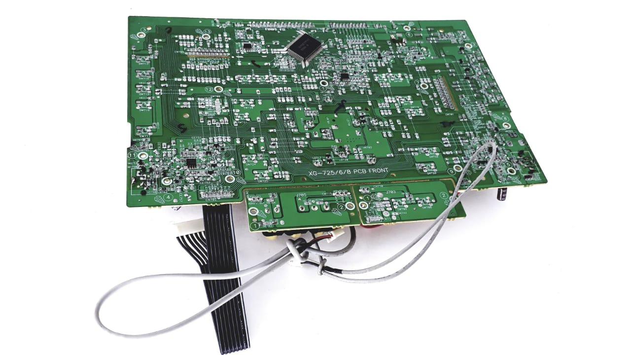 Placa Frontal para Micro System da Marca Semp Toshiba modelo  MS7716MP3
