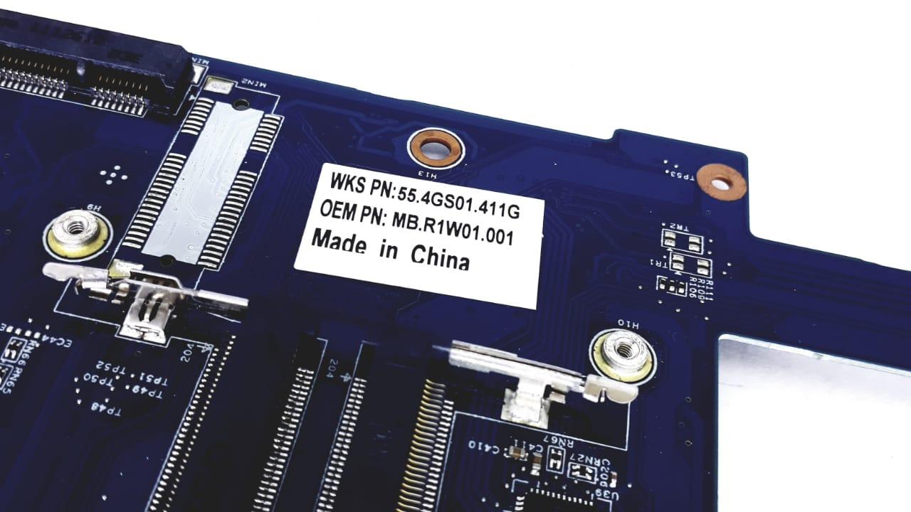 Placa Mãe Acer Aspire 1830 1830t Mb-r1w-001 Jv10 Cs94v-0