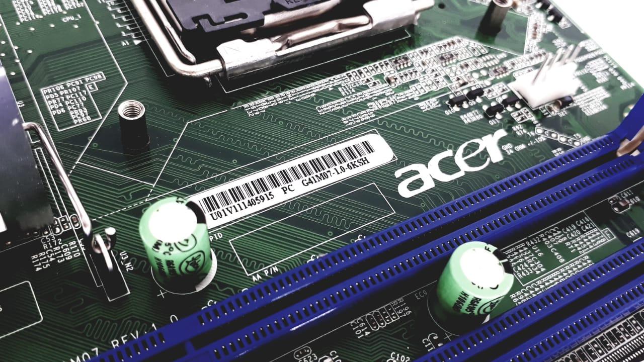 Placa Mãe Acer Veriton M275 Aspire M1920 Mb.val09.001 G41m07
