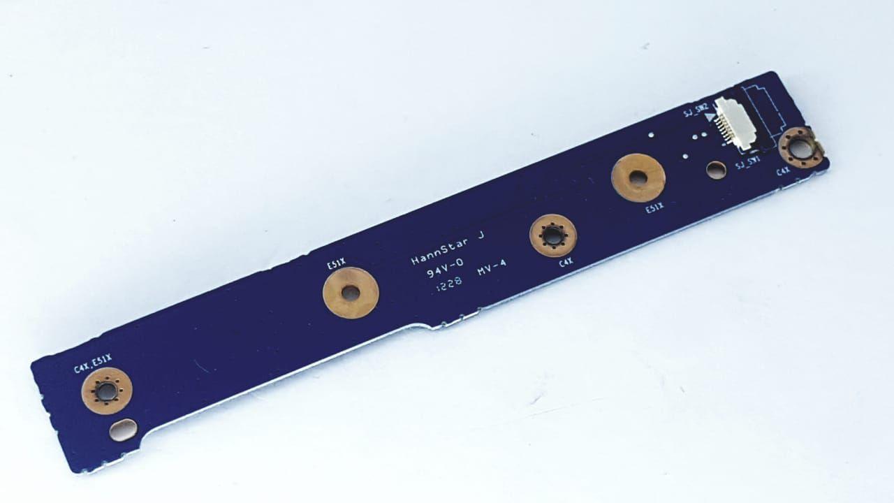 Placa Power Switch Notebook Clevo W240bu Nova