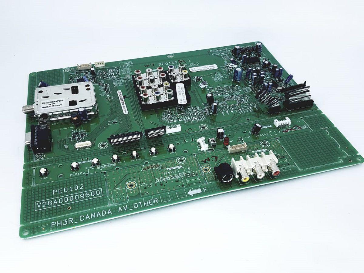 Placa Principal Completa Tv 32/37hl86 Toshiba Nova Pe 0102m