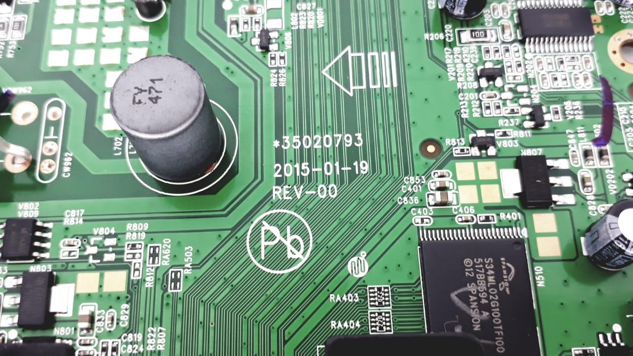 Placa principal para Tv da Marca Semp Toshiba modelo  32L2400-V1 de 32 polegadas LED