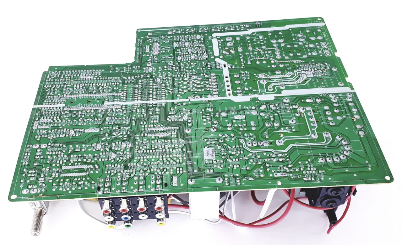 Placa Principal para TV de Tubo da marca Semp Toshiba modelo 3P630 SKY SL21 com cabo  de força para TV de 21 polegadas