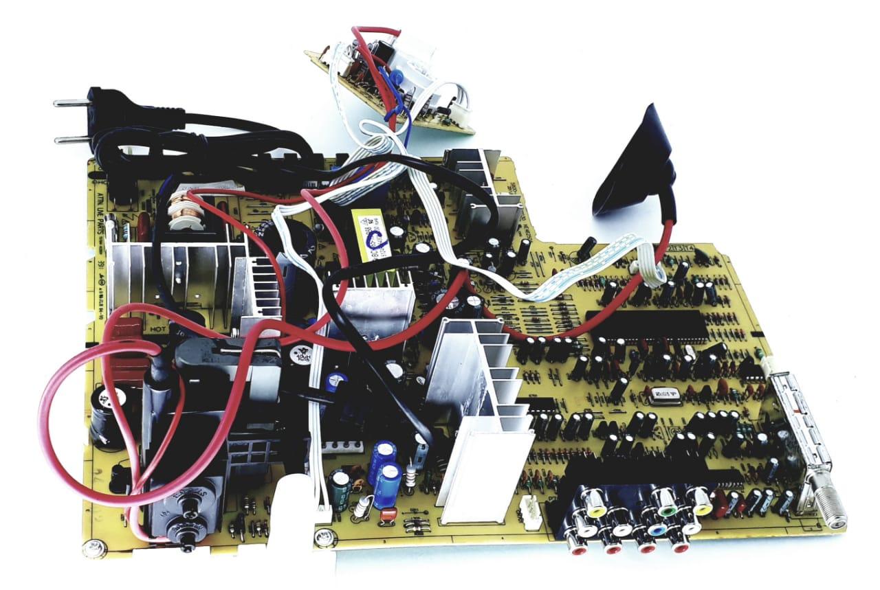 Placa Principal para TV de Tubo da marca Semp Toshiba modelo TV 2934(C)SL 29  polegadas  Tela Plana