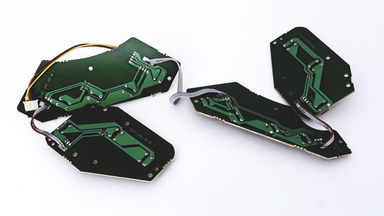 Placa das teclas funções para Rádio da marca Semp Toshiba modelo TR7048