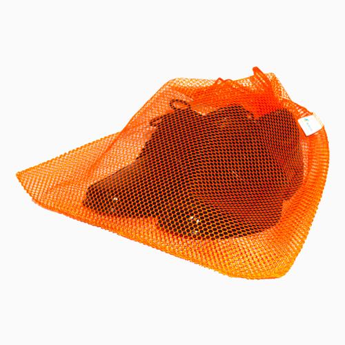 Saquinho reutilizável para utilizar no lugar de saco plástico  na cor LARANJA FMU