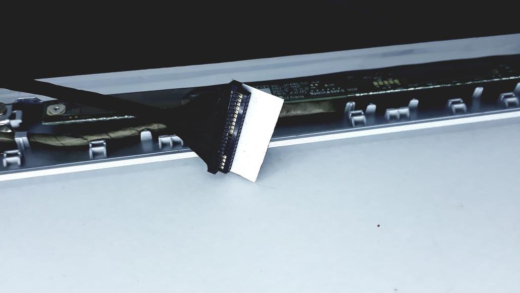 Tela Slim LCD para Notebook com moldura 14 polegadas Modelo   N1403 Semp Toshiba