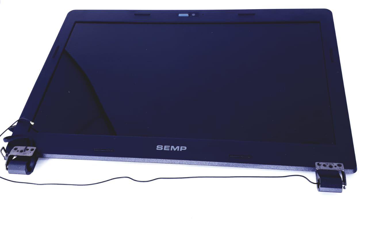 Tela para Notebook LCD com moldura 14 polegadas Modelo N1401 Semp Toshiba