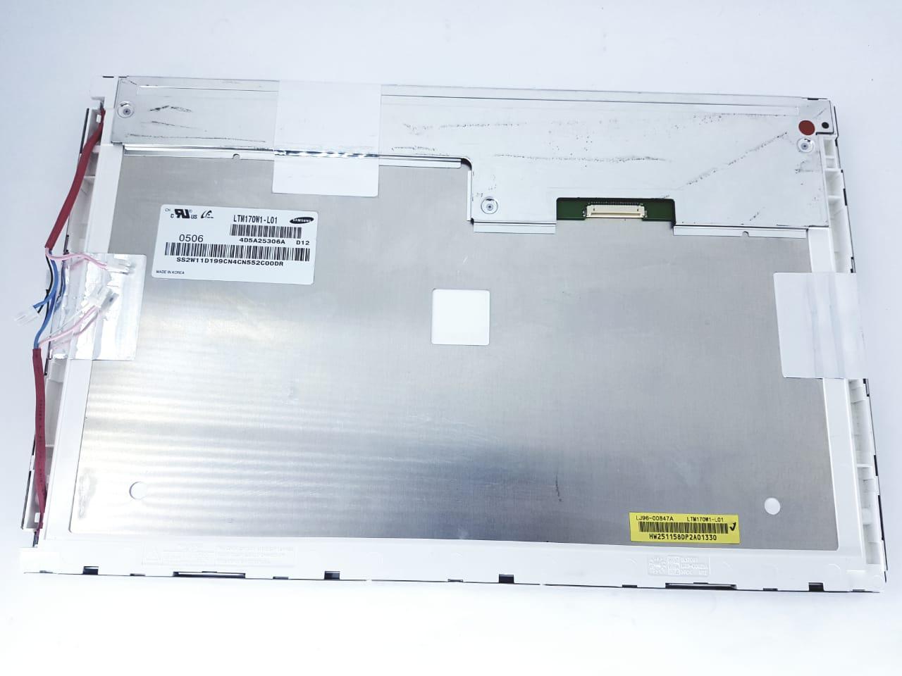 Tela Samsung  para Monitor LCD 17 polegadas LTM170W-1-L01