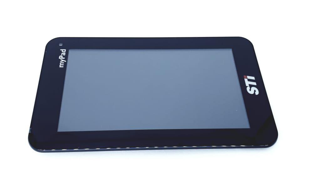 Tela Touch + Painel frontal para Tablet modelo TA0701W  da marca Semp Toshiba com cabo flat Original