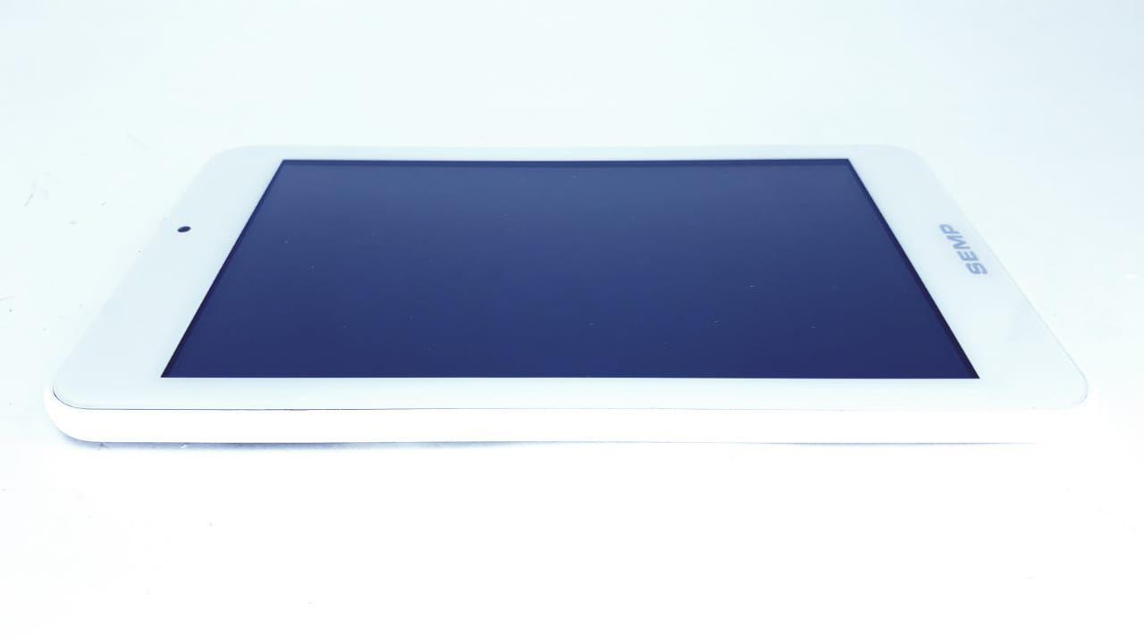 Tela Touch + Painel frontal para Tablet modelo TA0705 V2 Branco  da marca Semp Toshiba com cabo flat Original