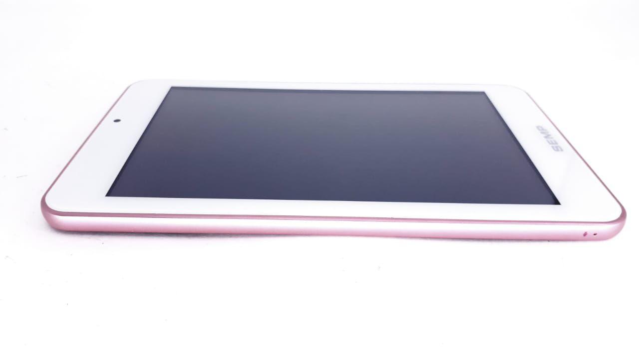 Tela Touch + Painel frontal para Tablet modelo TA0705 V2 Rosa   da marca Semp Toshiba com cabo flat Original