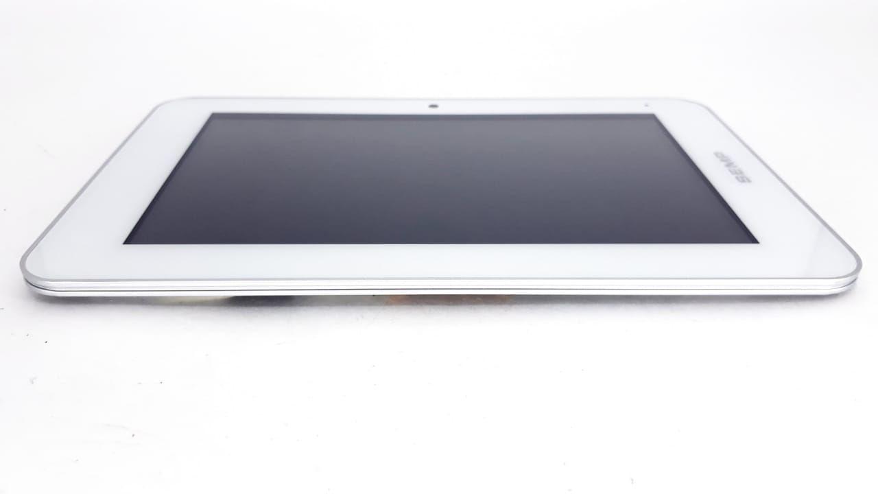 Tela Touch + Painel frontal para Tablet modelo TA0704W Branco  da marca Semp Toshiba com cabo flat Original