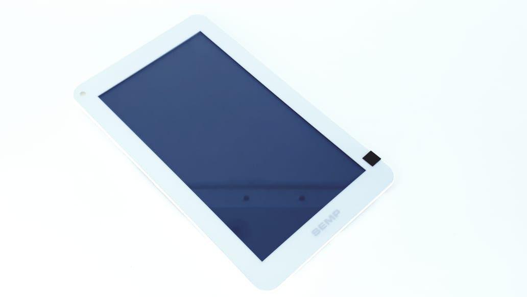 Tela Touch + Painel frontal para Tablet modelo TA0760W Branco da marca Semp Toshiba com cabo flat Original