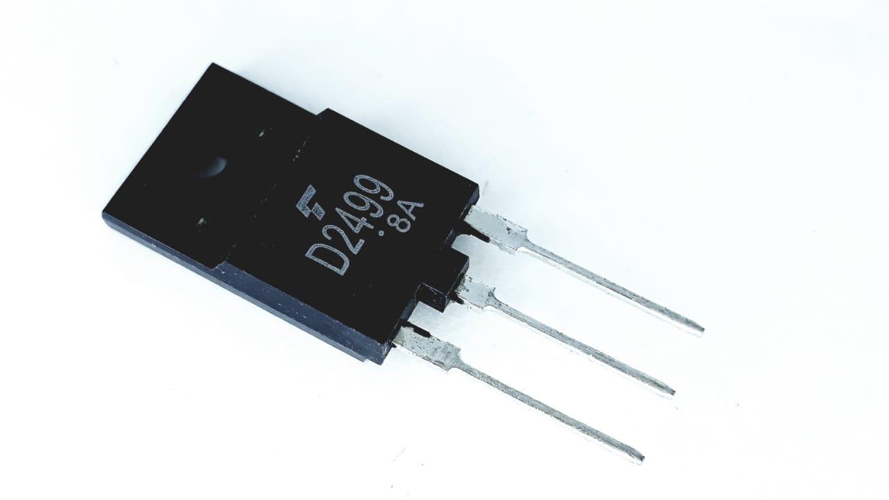 Transistor de modelo 2SD2499 NPN 1500V 8A Original