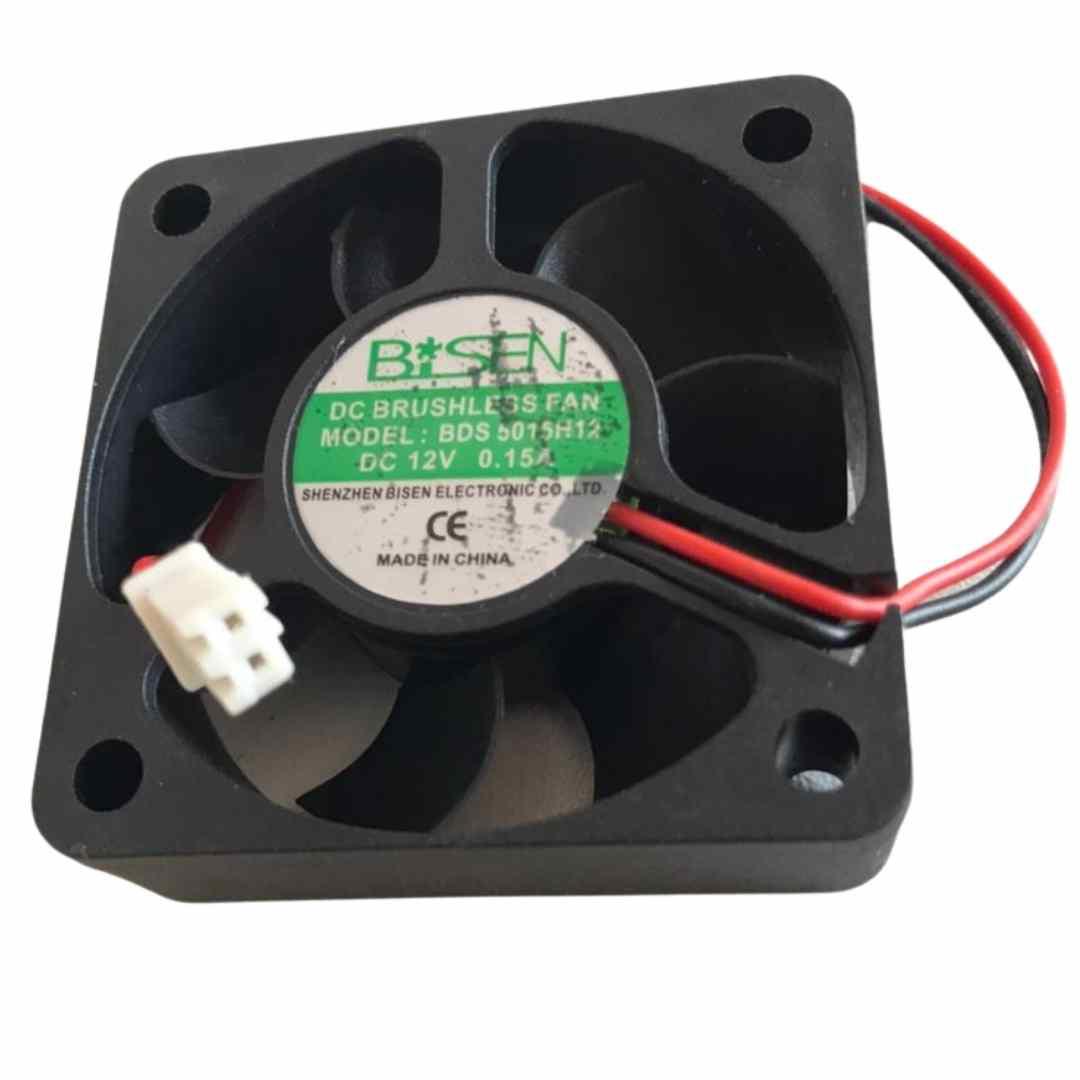 Ventilador Cooler 50x50x15mm 2 Fios 12v 0.15a Bds5015h12