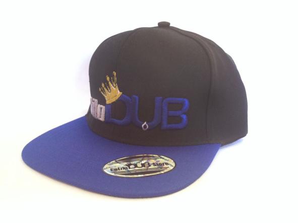 Boné Estilo Dub - Aba azul 6792ffadadf