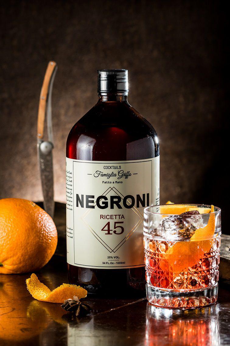 Negroni Ricetta 45 - 1000 ml