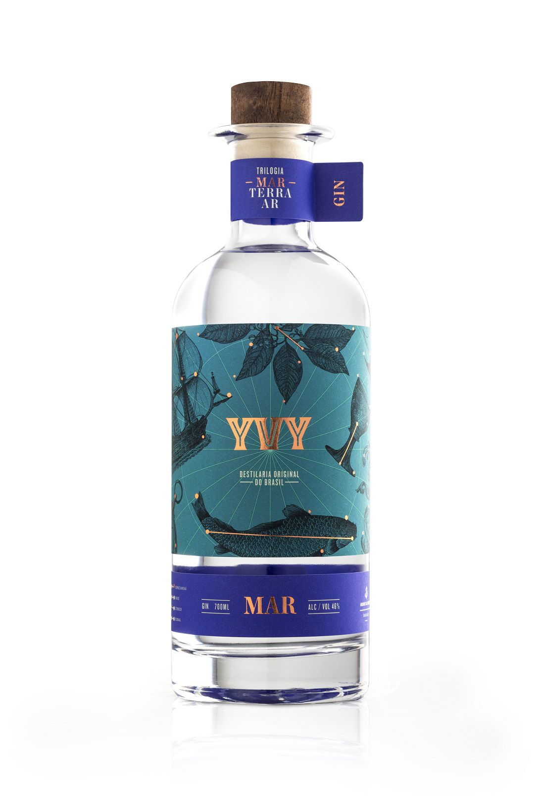 YVY Gin - MAR - 700 ml