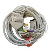 Cabo de ECG do Paciente ErgoPC 13 11 Vias USB - Micromed
