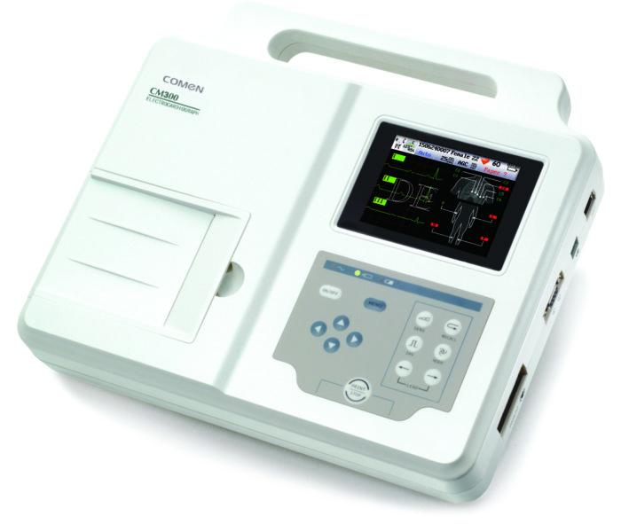ECG Eletrocardiógrafo – CM300A - COMEN
