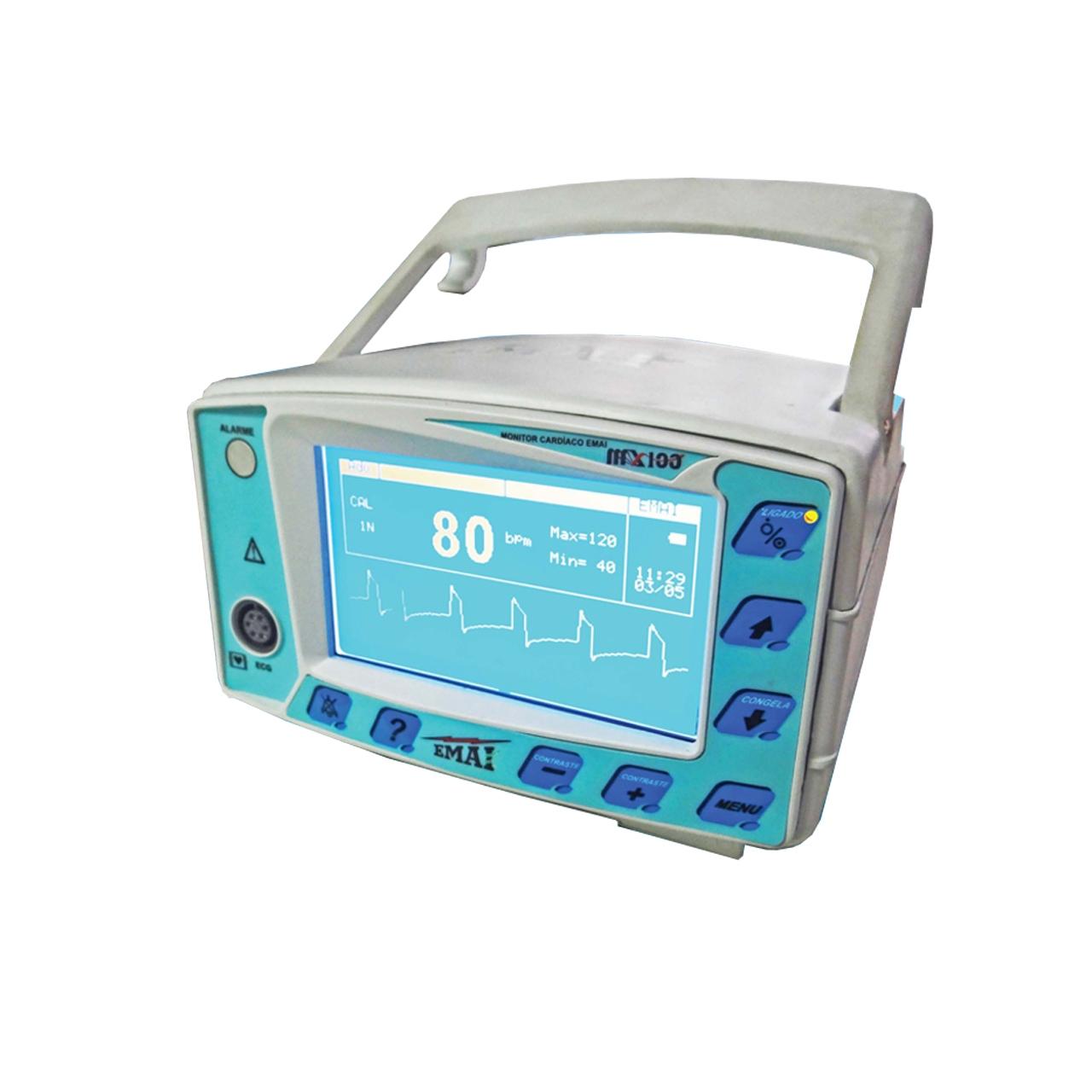 Monitor Cardíaco - MX 100 - EMAI