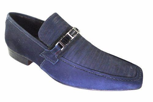 c9efde187 Sapato Calvest Social Nobuck Original - 3040c254 - Celeste Calçados