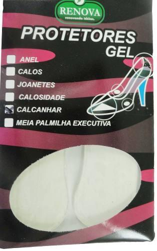 Protetor Calcanhar Gel/silicone, Ajusta Calçado Folgado - 2019