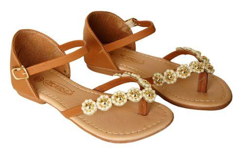 Sandalia Kit Kero Infantil Menina Flores - 041k