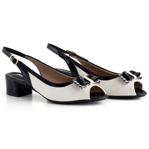 Sandalia Piccadilly Chanel Salto 3,9 Grosso - 166012