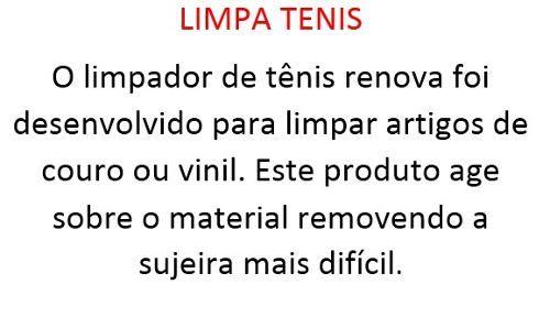 Limpador De Tenis E Couro Renova - 1367