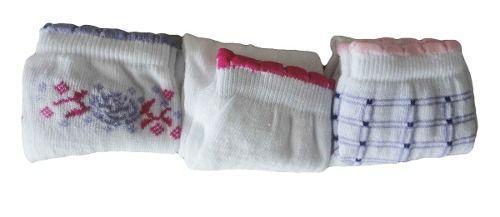 Meia Dallf Kit Com 3 Soquete 34/39 Feminino - 103