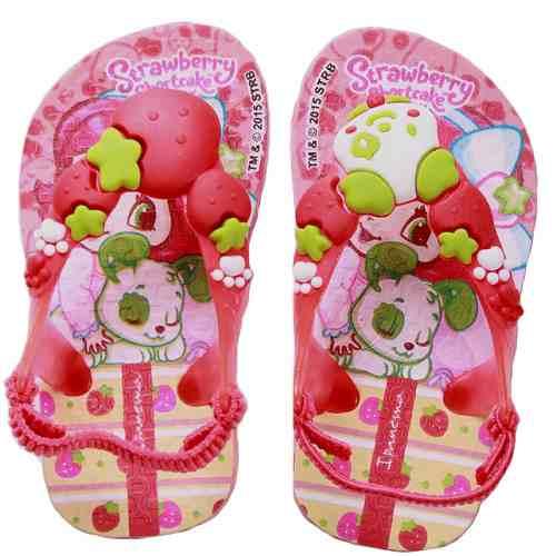 Chinelo Moranguinho Baby Infantil Menina - 25511