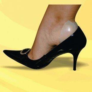 Protetor Gel/silicone Calcanhar, Ajusta Calçado Folgado - 2139
