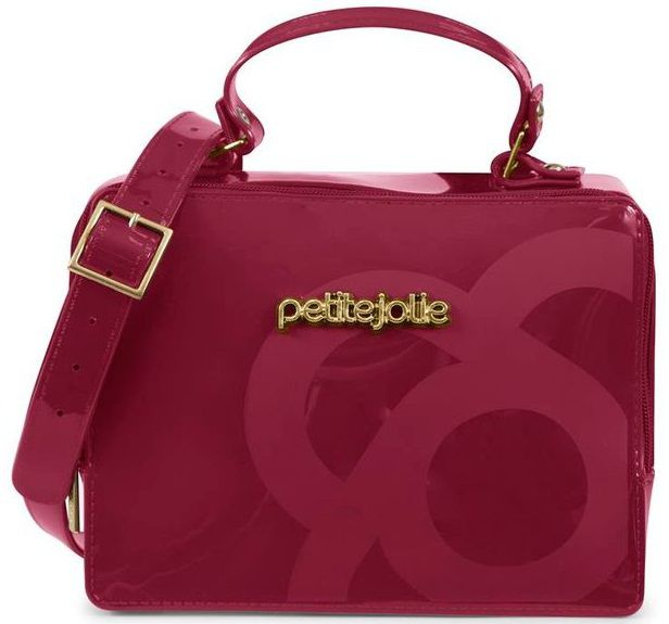 Bolsa Petite Jolie Boxbag Plum - PJ3204