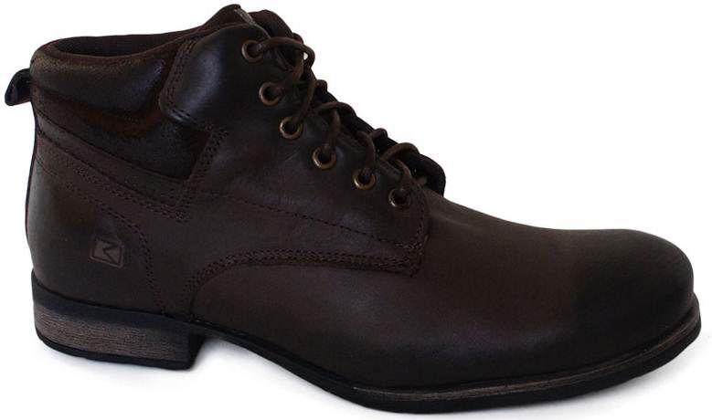 Bota Boots Company Couro Acolchoado Lisa - 1800