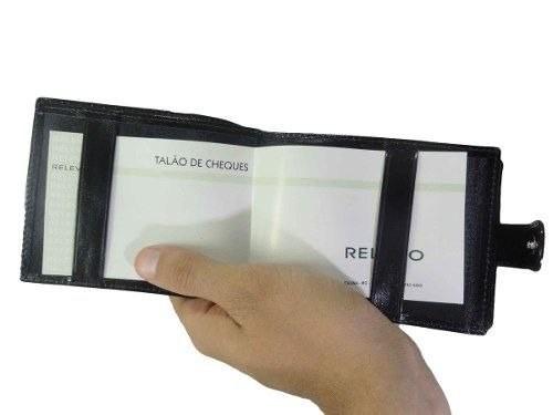 Carteira Relevo Porta Cheque / Cartão / Documento - 1092