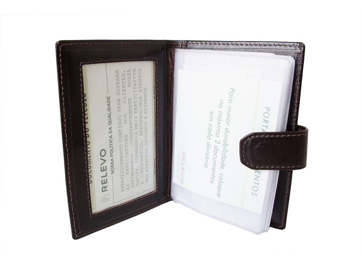 Carteira Relevo Porta Documento - 1165