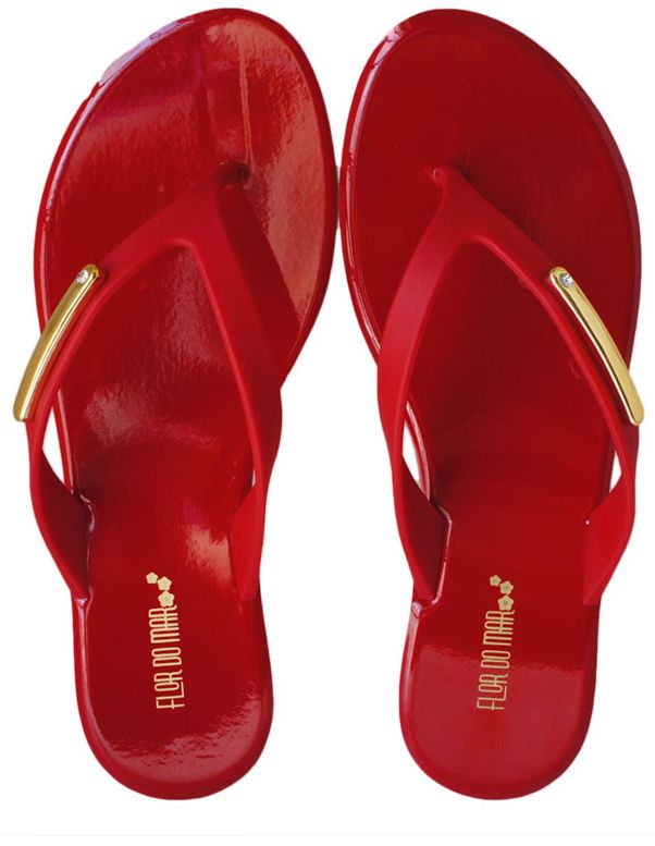 Chinelo Flor Do Mar Tira Fina - VS131712667