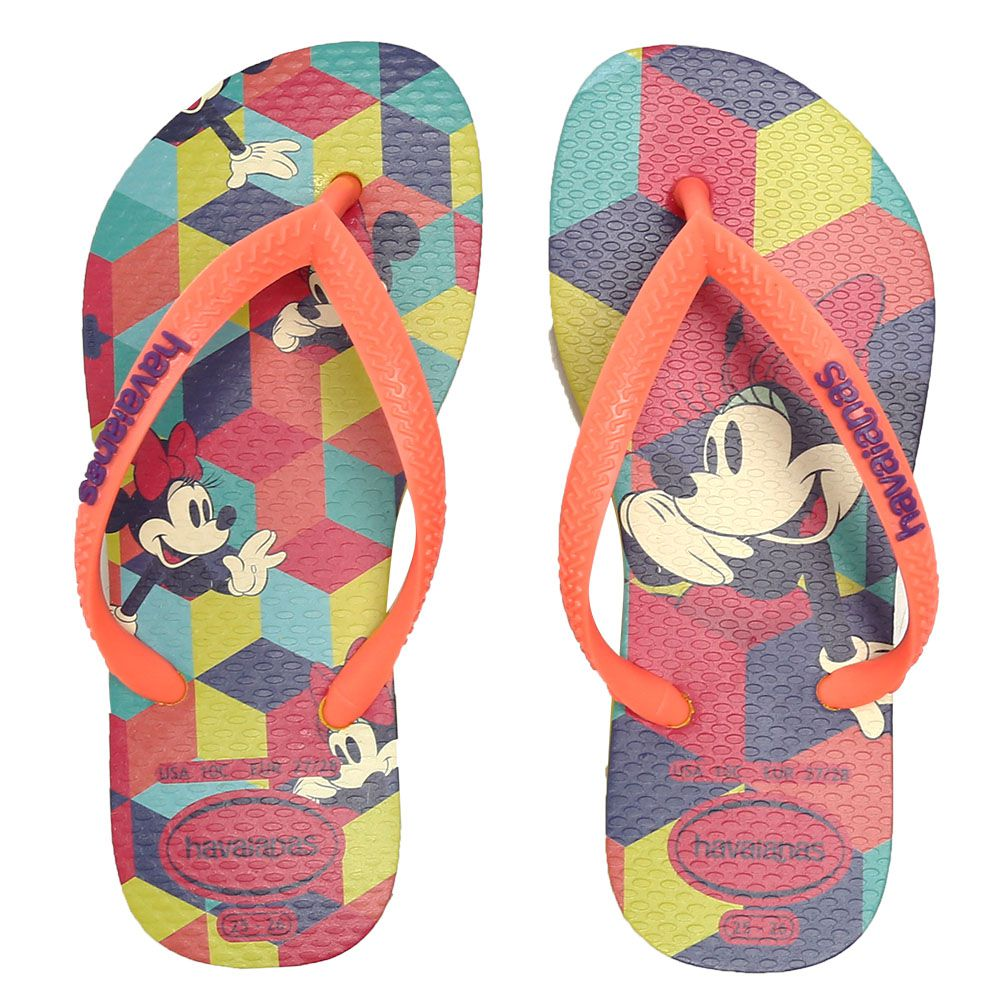 Chinelo Havaianas Kids Disney Cool CF Infantil Slim - 1199
