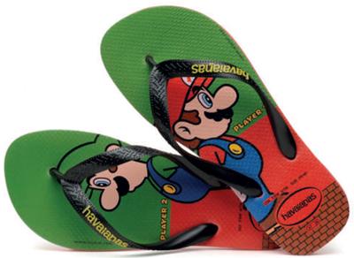 Chinelo Havaianas Mario Bros Cf - 10112